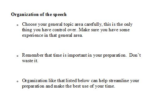 how to write a speech bbc bitesize